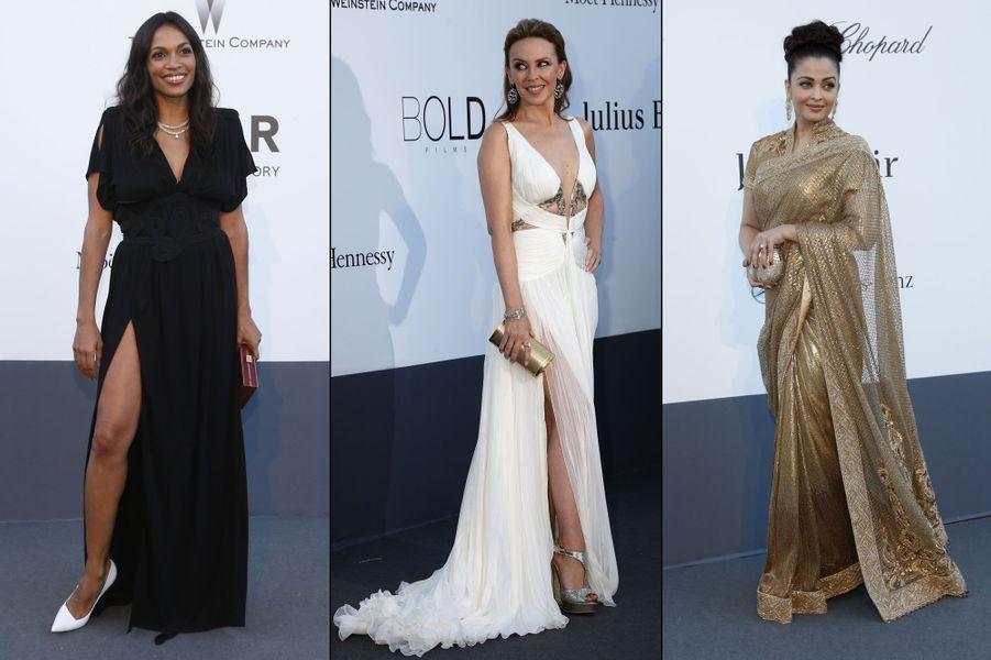Rosario Dawson, Aishwarya Rai, Kylie Minogue