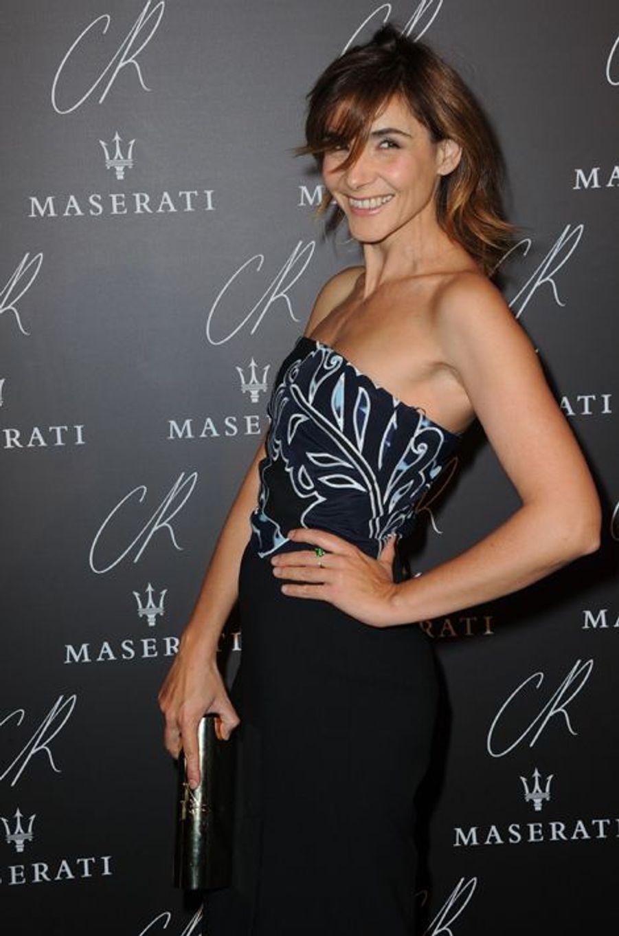 Clotilde Courau à la soirée CR Fashion Book organisée à Paris le mardi 30 septembre 2014