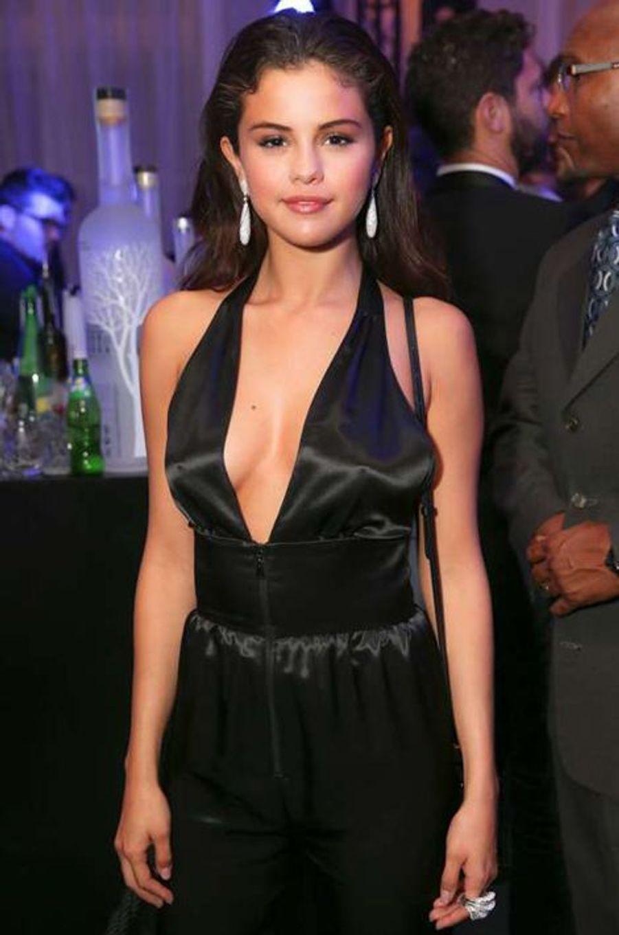 Selena Gomez à la soirée CR Fashion Book organisée à Paris le mardi 30 septembre 2014