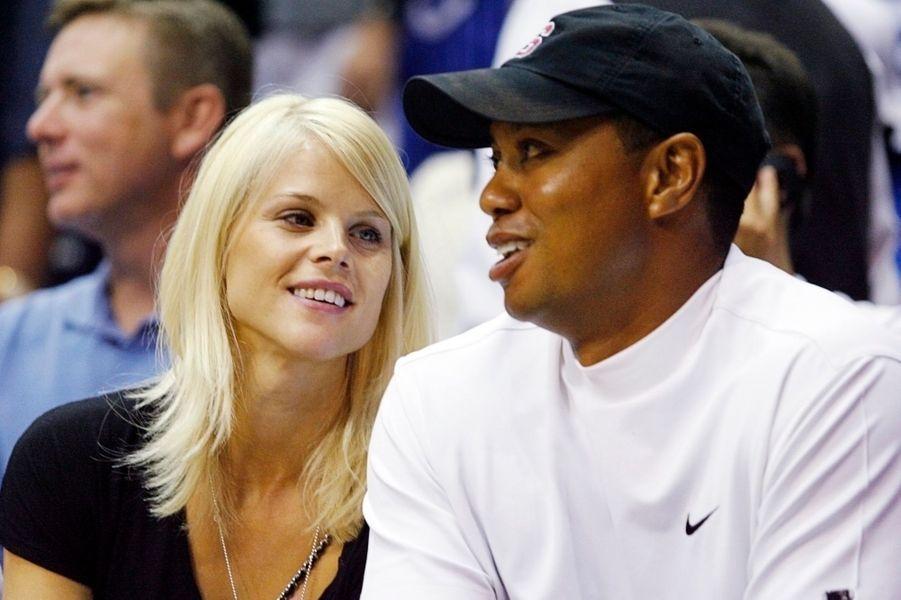 Elin Nordegren et Tiger Woods: 110 millions de dollars