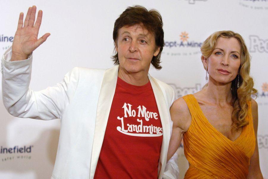 Paul McCartney et Heather Mills: 48,6 millions de dollars