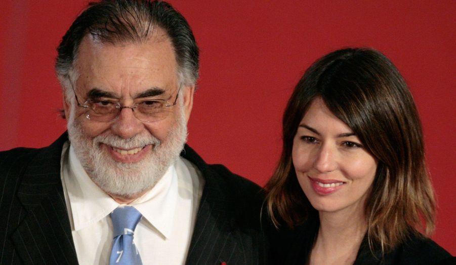 Le réalisateur produit ses vins en Californie. Sa plus célèbre cuvée est la cuvée Sofia, dédiée à sa fille.
