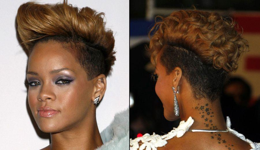 C'est à elle que l'on doit la mode des cheveux en l'air et du crâne à moitié rasé. Si au début, sa coupe a choqué, aujourd'hui, des millions de jeunes femmes ont adopté son style.