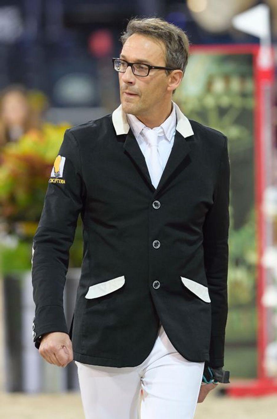 Julien Courbet au Gucci Paris Masters 2014 qui se tient à Paris du 4 au 7 décembre