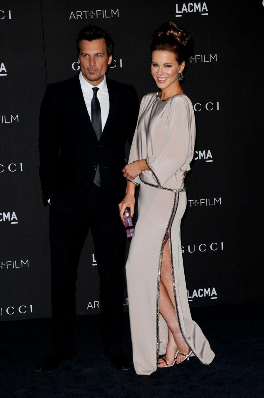 Kate Beckinsale et son mari Len Wiseman