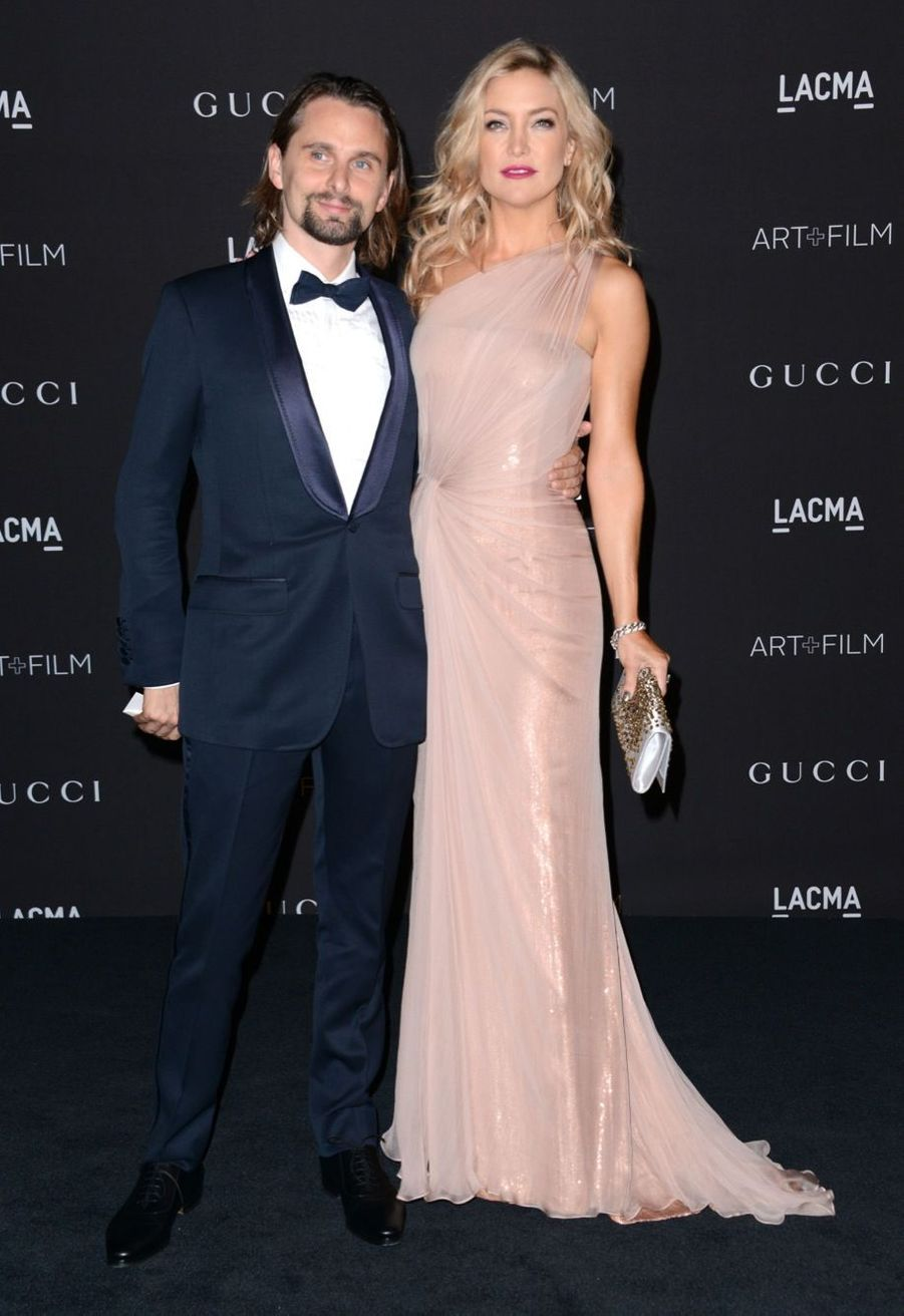 Kate Hudson et son compagnon le chanteur de Muse, Matthew Bellamy
