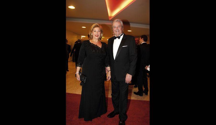La première dame et son invité d'honneur.