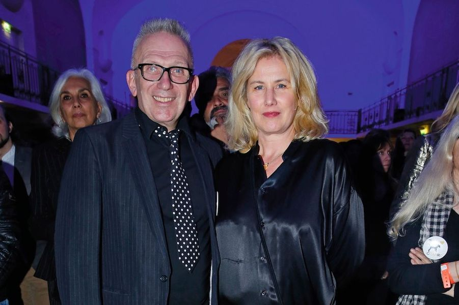 Jean-Paul Gaultier et Christine Bergstrom