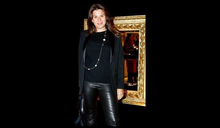 Delphine Pastor travaille dans l'immobilier à Monaco.