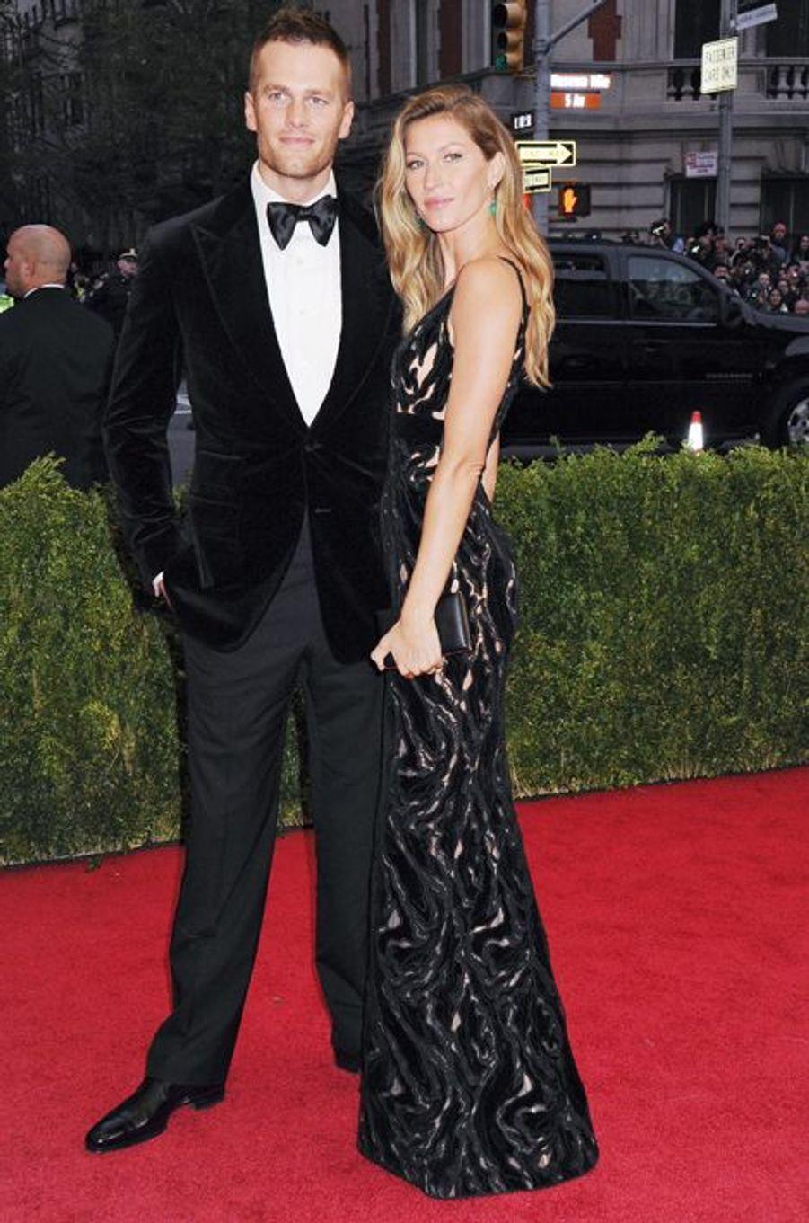 Gisele Bündchen et Tom Brady à New York le 5 mai 2014.