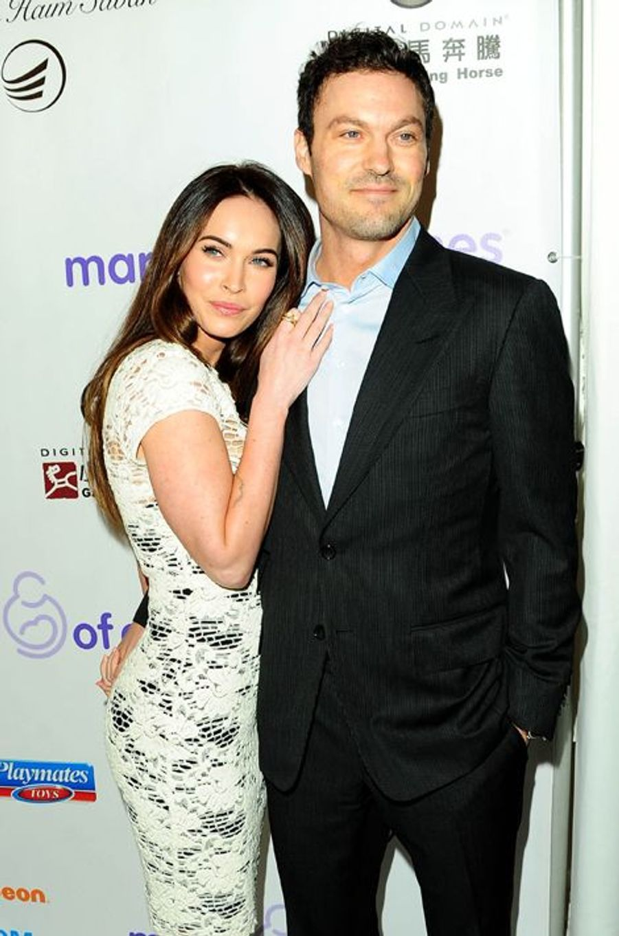 Megan Fox et Brian Austin Green à Los Angeles le 7 décembre 2012.