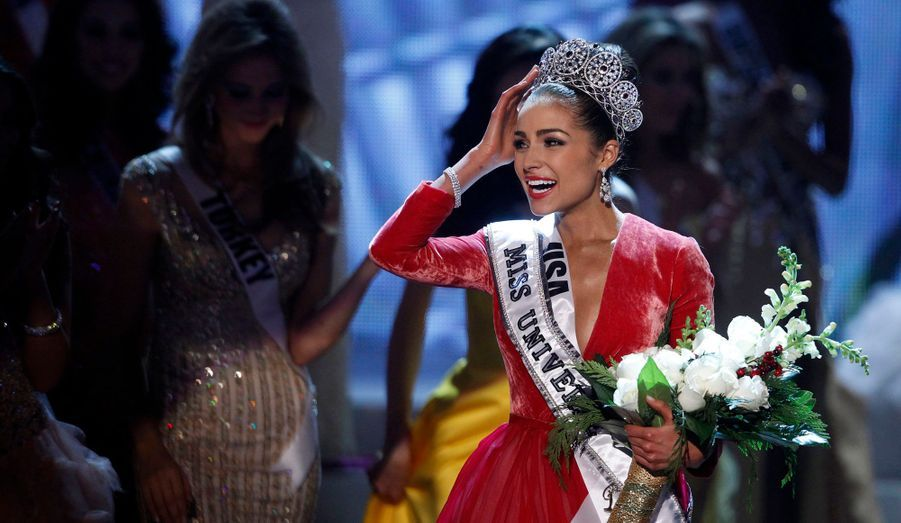 C'est Miss USA qui a été couronnée mercredi soir du titre suprême de Miss Univers, au terme du concours organisé à Las Vegas. Olivia Culpo, 20 ans, a d'abord été Miss Rhode Island. Elle devance Miss Philippines et Miss Venezuela.