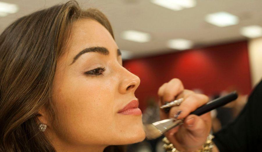 Le 5 décembre, session maquillage