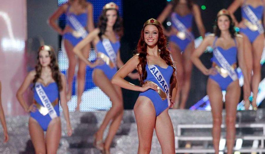 La nouvelle reine de beauté est Alsacienne. La très belle Delphine Wespiser a été élue Miss France 2012 au terme de plus de trois heures de spectacle, à Brest.