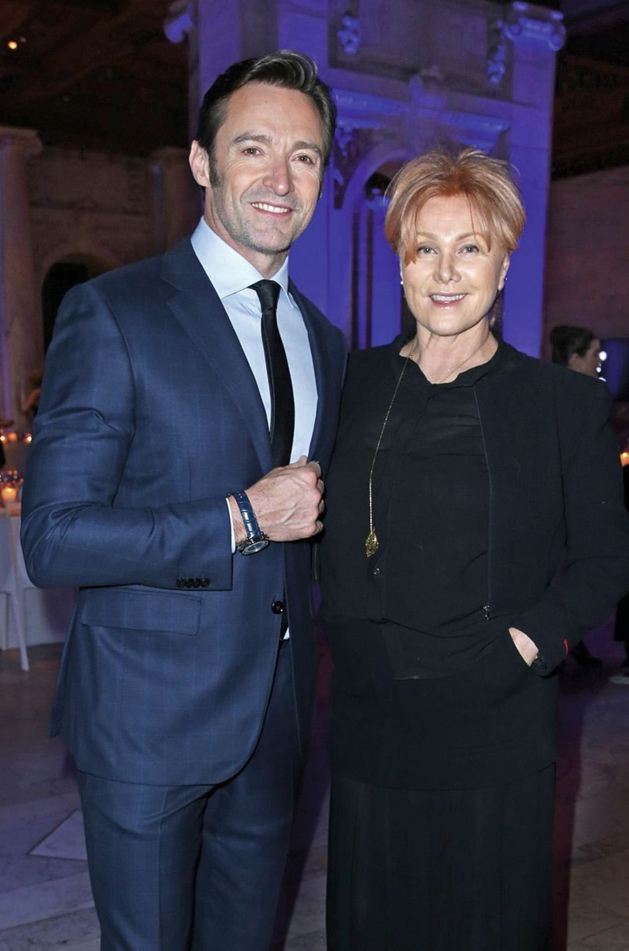 Hugh Jackman et son épouse, Deborra-Lee Furness.