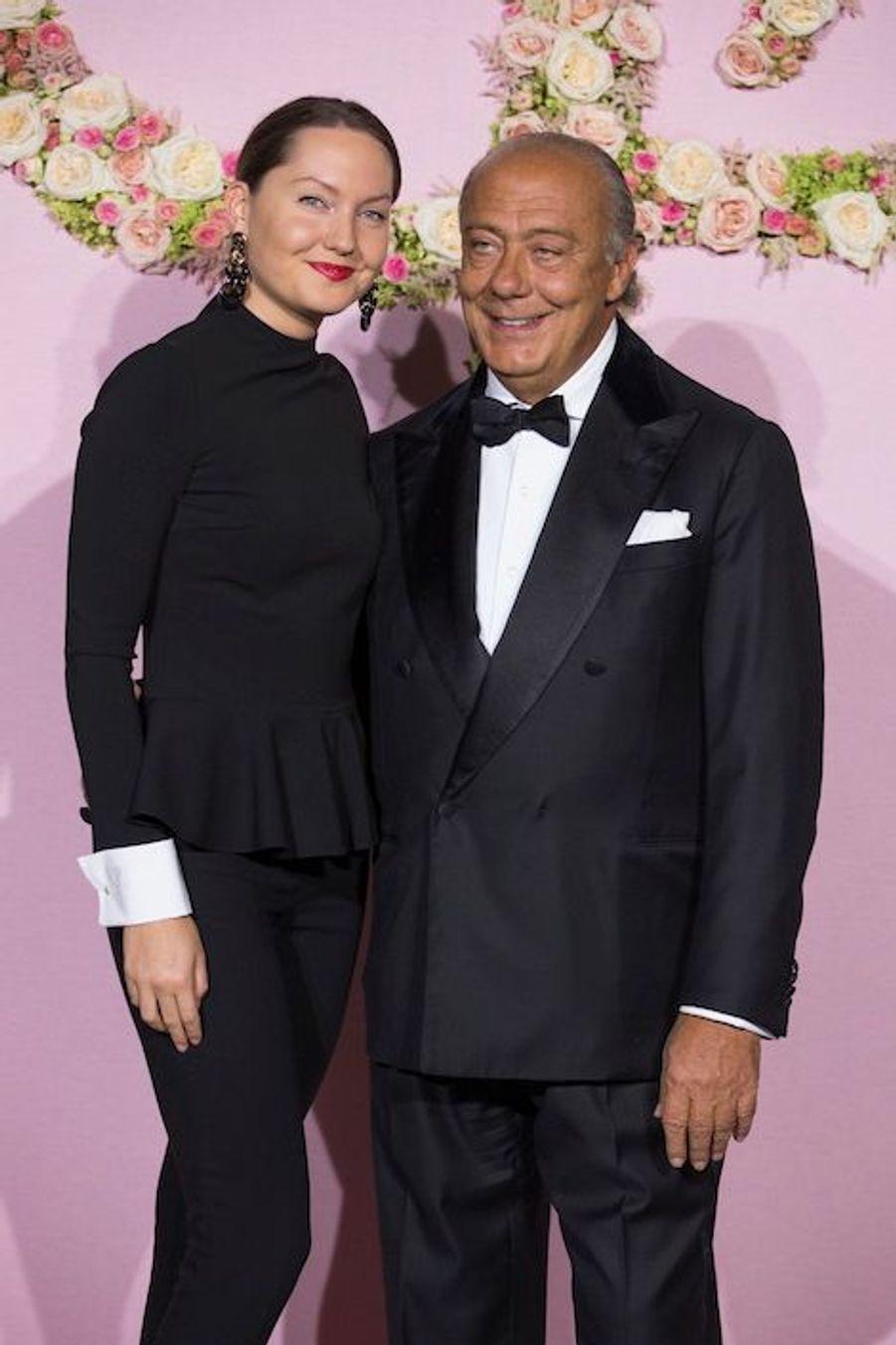 Sophia Taylor et Fawaz Gruosi.
