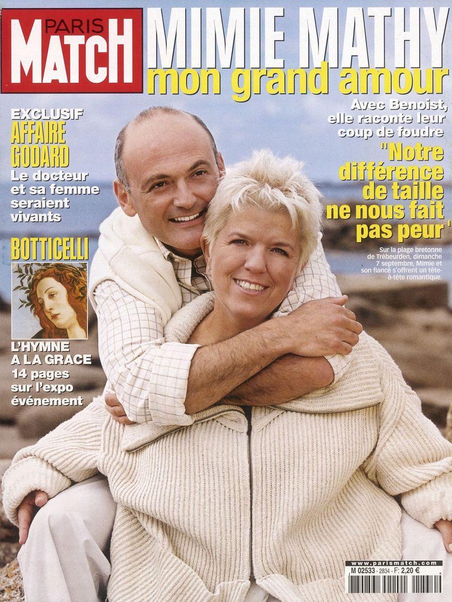 Benoist Gérard et Mimie Mathy