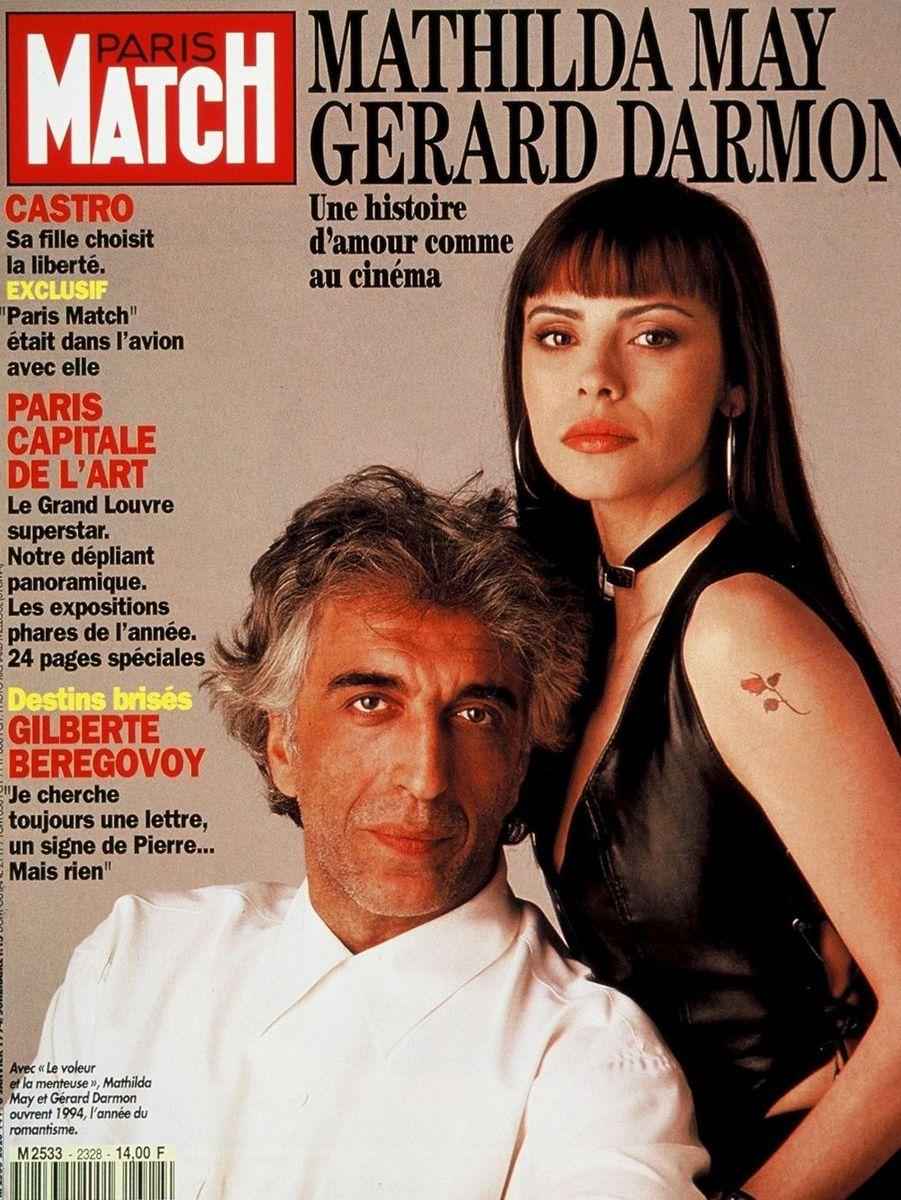 Gérard Darmon et Mathilda May