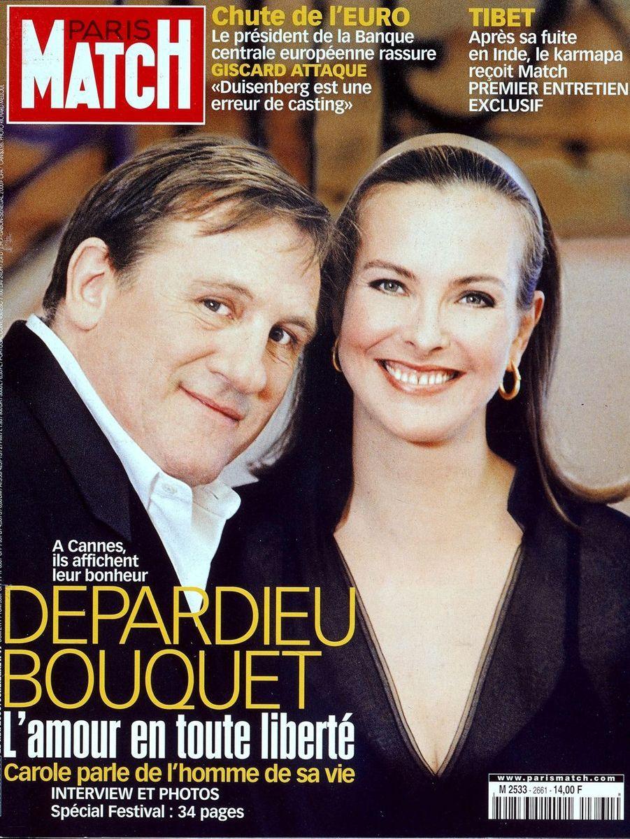 Gérard Depardieu et Carole Bouquet