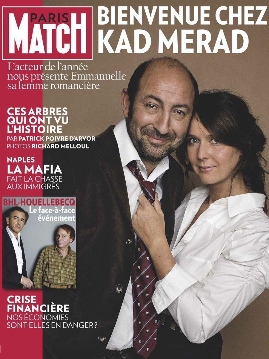 Kad Merad et Emmanuelle Cosso