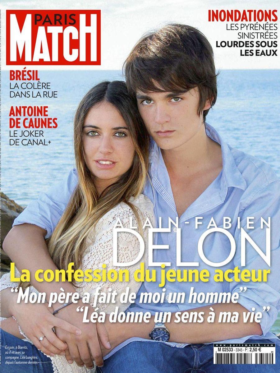 Léa et Alain-Fabien Delon