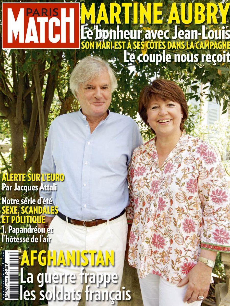 Martine Aubry et Jean-Louis Brochen