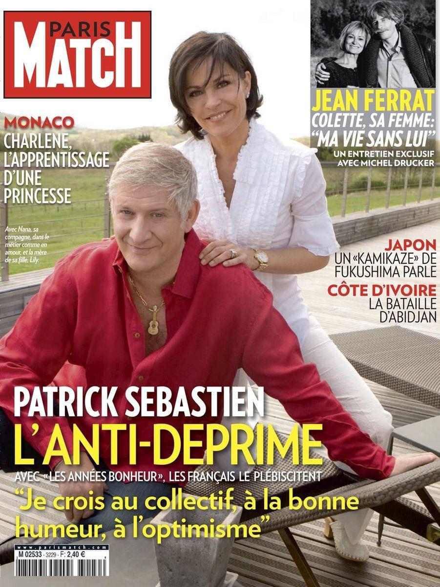 Patrick Sébastien et Nathalie Boutot