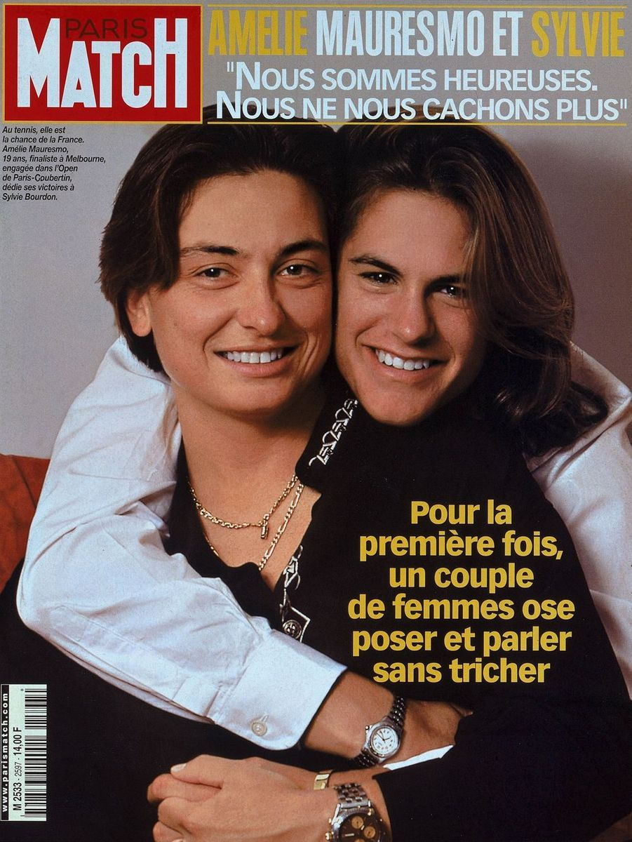 Sylvie Bourdon et Amélie Mauresmo
