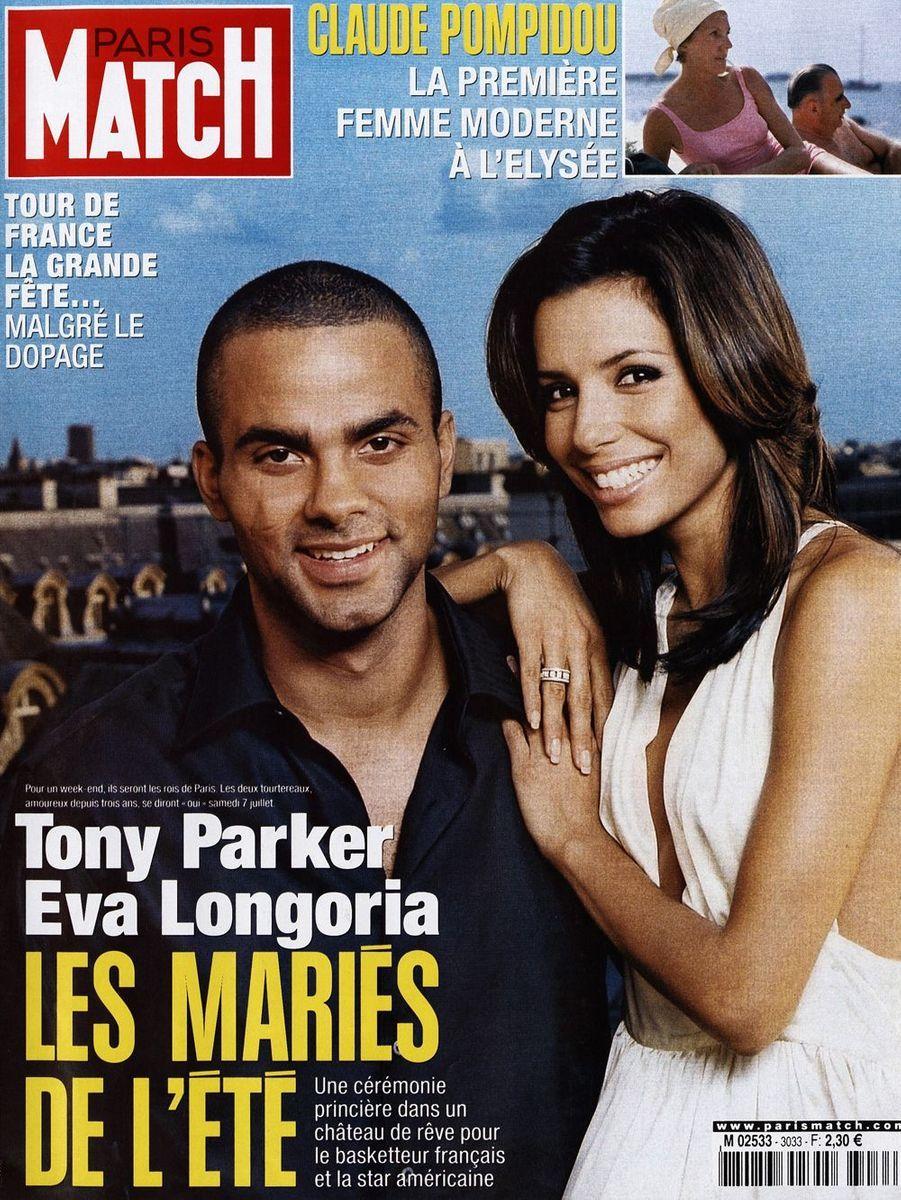 Tony Parker et Eva Longoria