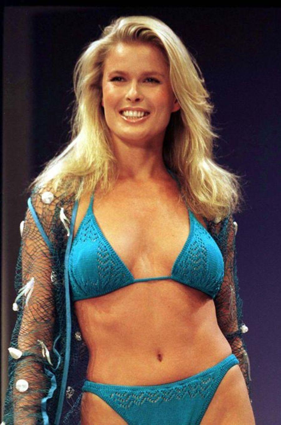 Le défilé de la marque Victoria's Secret en 1997 à New York (Vendela).