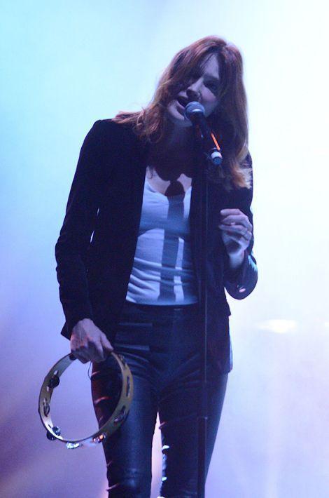 Carla Bruni à l'Olympia le 19 janvier dernier