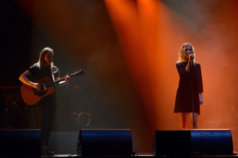 Sandrine Kimberlain à l'Olympia le 19 janvier dernier