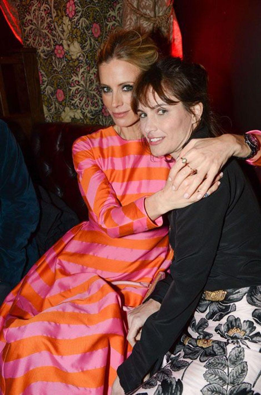 Laura Bailey et Sheherazade Goldsmith