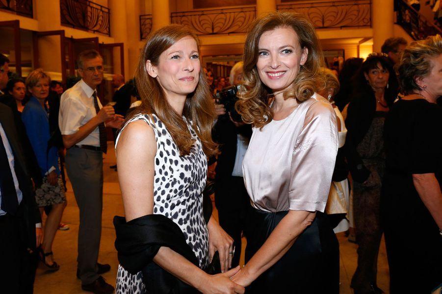Anne Gravoin et Valérie Trierweiler