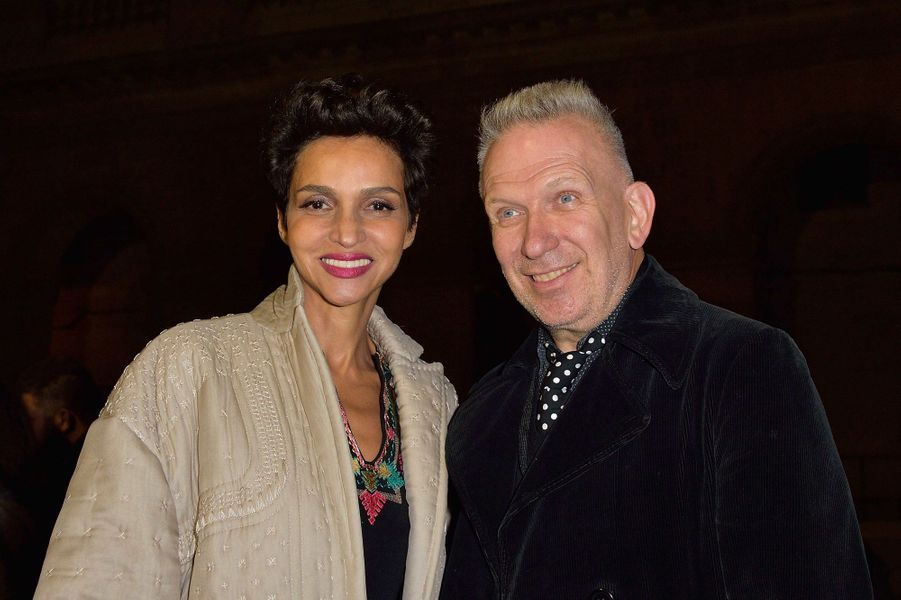 Farida Khelfa et Jean Paul Gaultier