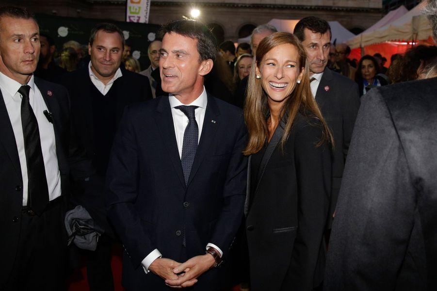 Manuel Valls et Anne Gravoin