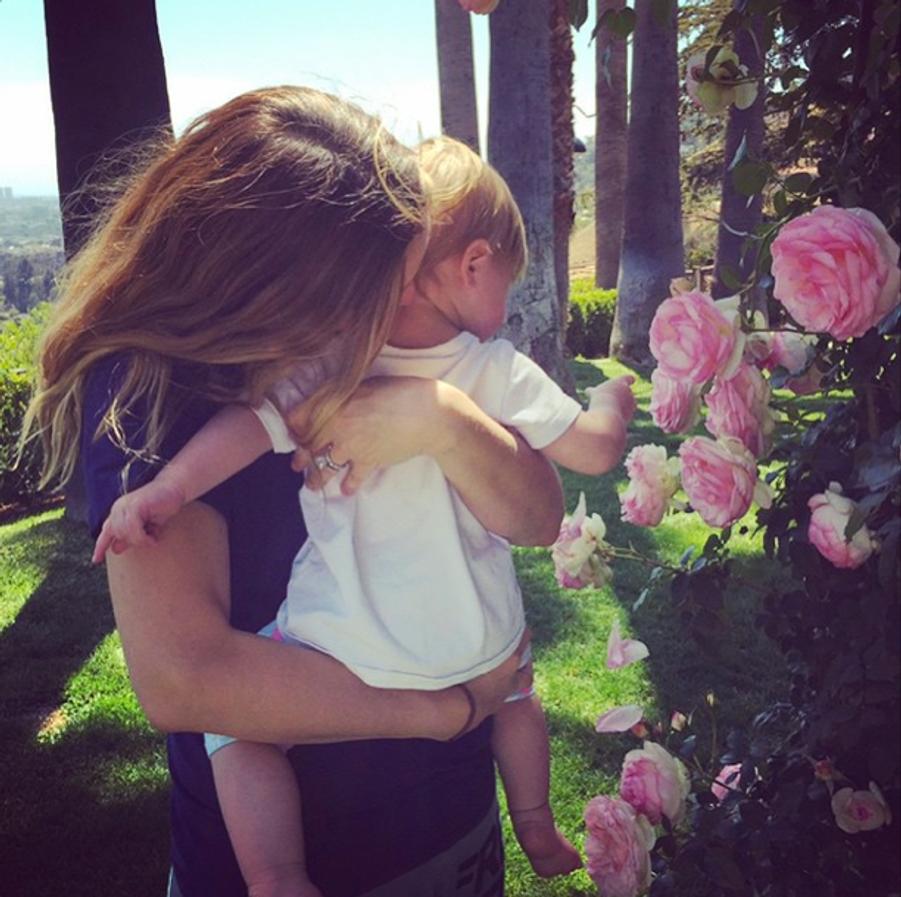 Célébration printanière pour Drew Barrymore et sa petite Frankie
