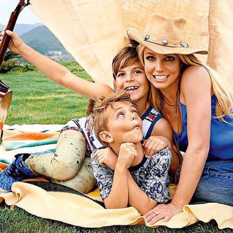 Fête des mères en musique pour Britney Spears et ses fils