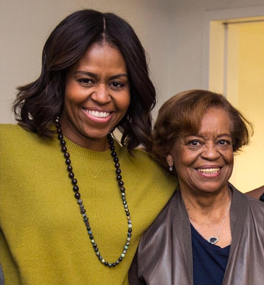 Marian, star d'un jour sur le compte Instagram de sa fille Michelle Obama