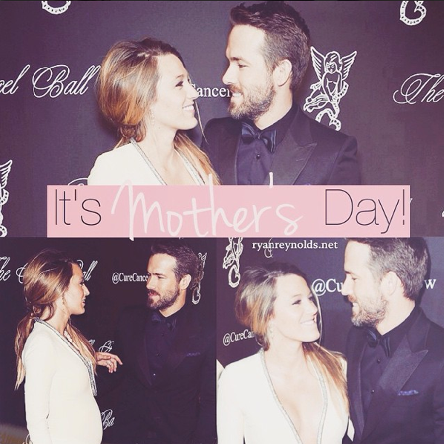 Nouveau papa, Ryan Reynolds célèbre la fête des mères avec Blake Lively