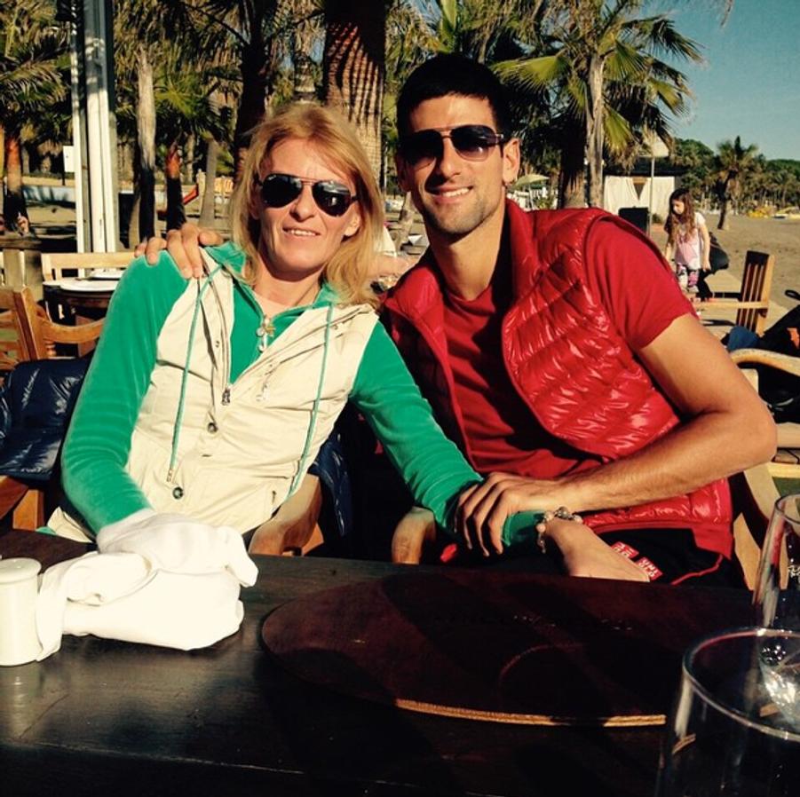 Novak Djokovic rend hommage à sa mère