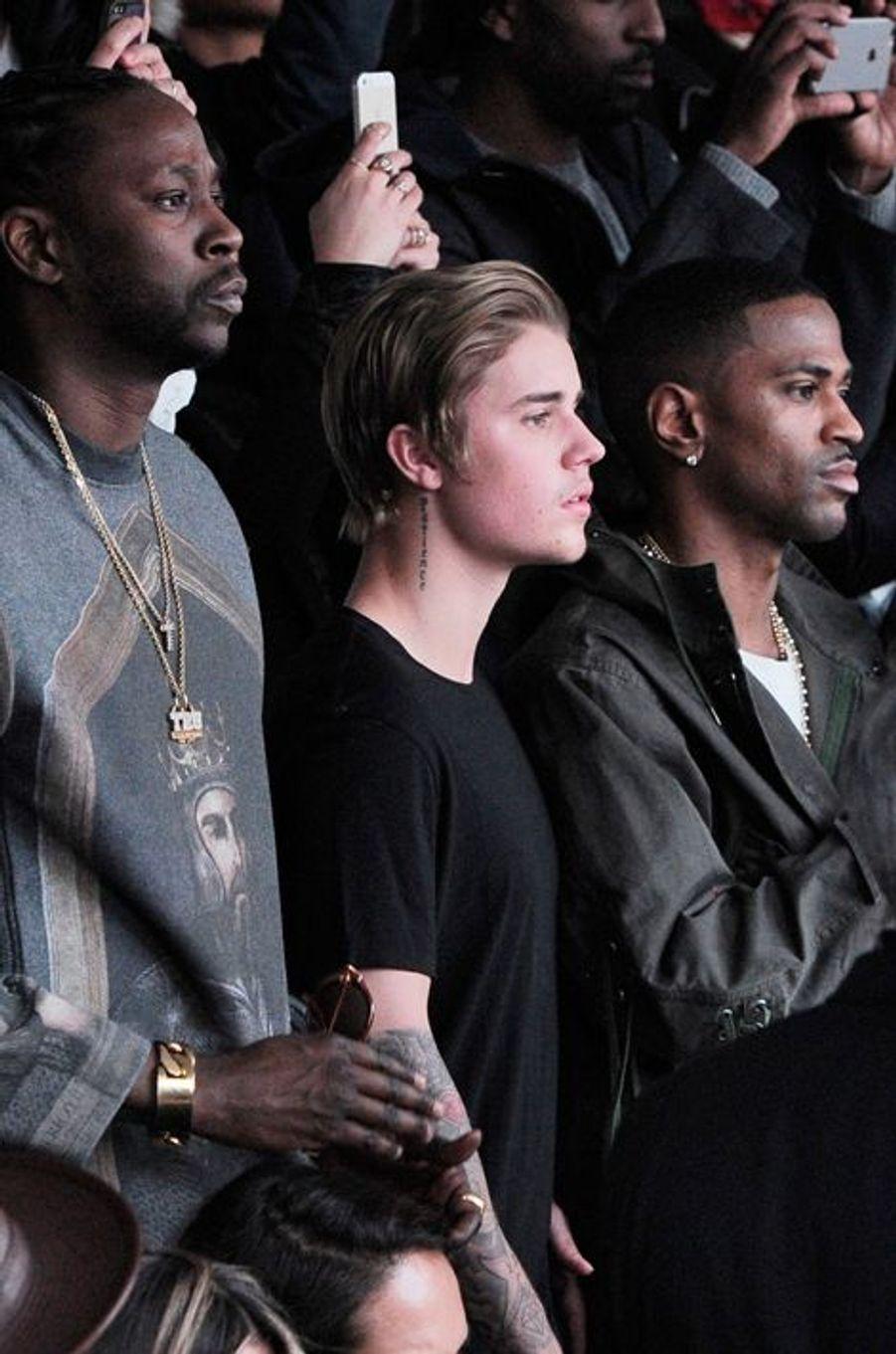 Justin Bieber au défilé Adidas par Kanye West
