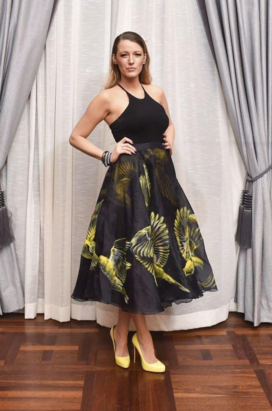 Blake Lively, mariée à l'acteur à l'acteur Ryan Reynolds. Maman d'une petite fille depuis le 28 décembre 2014