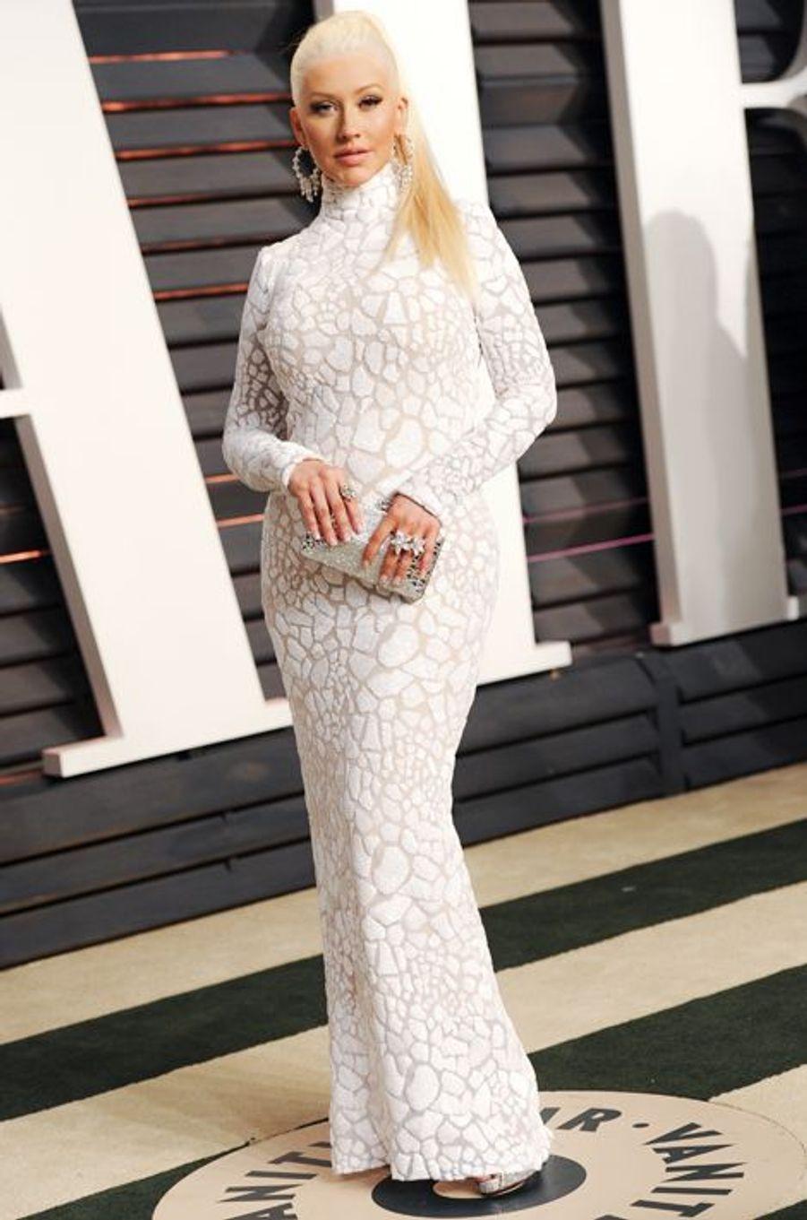 Christina Aguilera, fiancée au guitariste Matthew Rutler, maman pour la deuxième fois, depuis le 16 août 2014, d'une petite fille baptisée Summe...