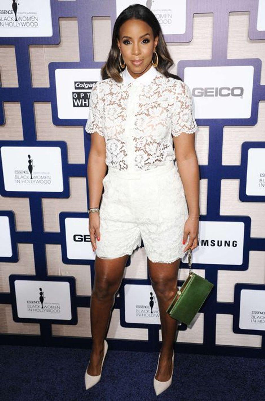 Kelly Rowland, mariée à l'agent Tim Witherspoon, maman d'un petit garçon nommé Titan Jewell depuis le 4 novembre 2014