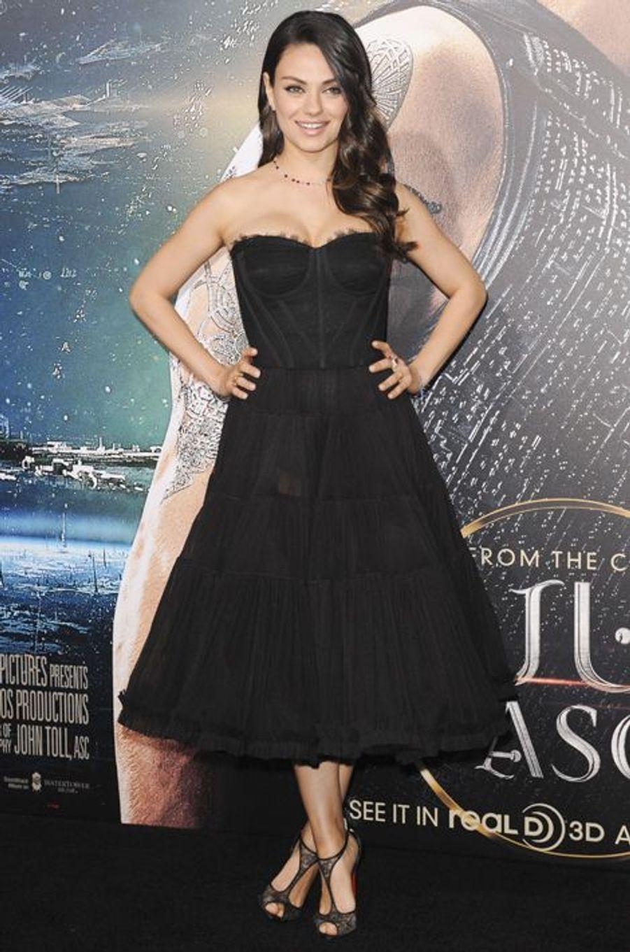 Mila Kunis, mariée à l'acteur Ashton Kutcher. Maman d'une petite fille, Wyatt Isabelle, depuis le 30 septembre 2014