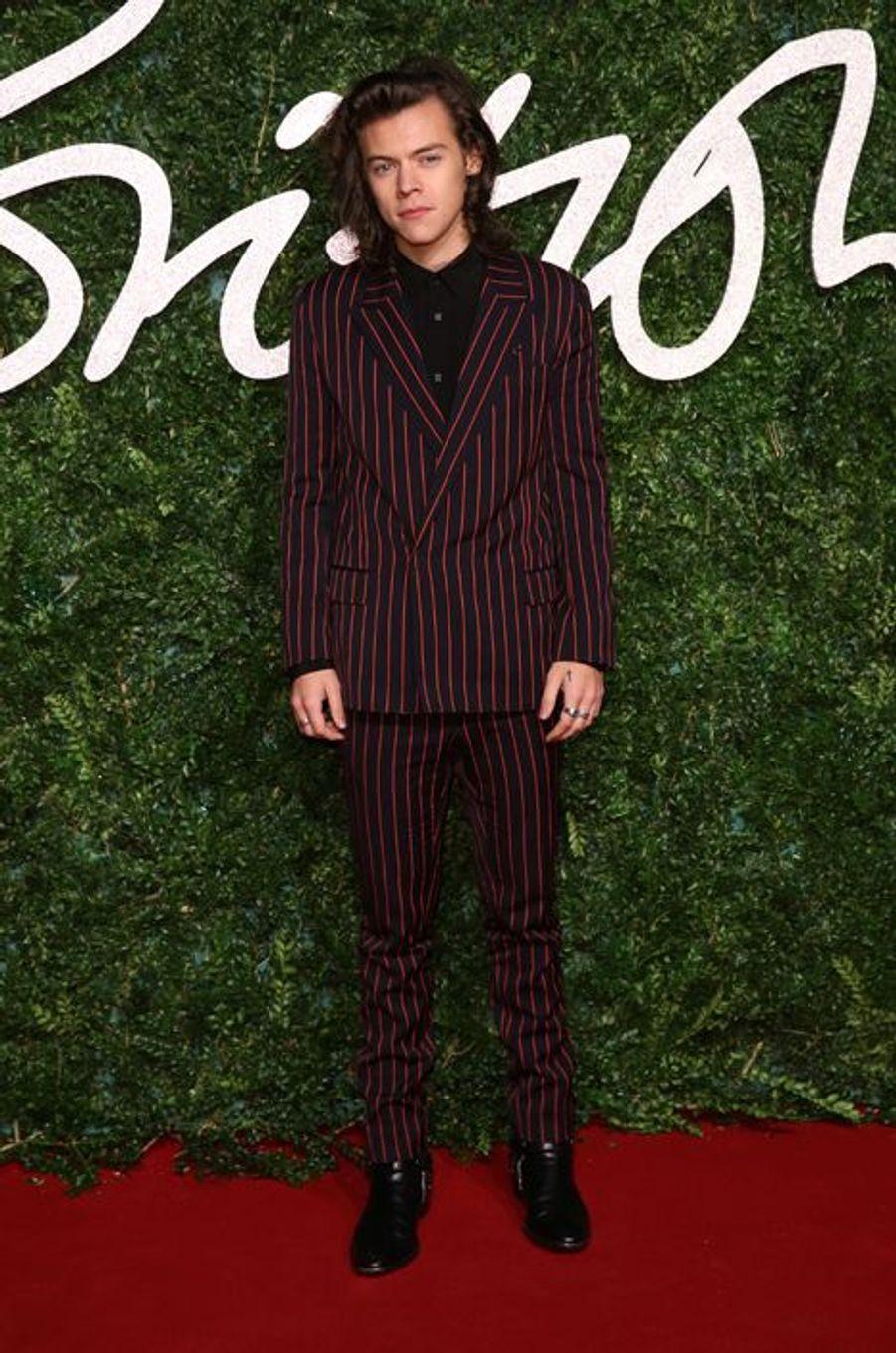 Harry Styles à Londres le 1er décembre 2014