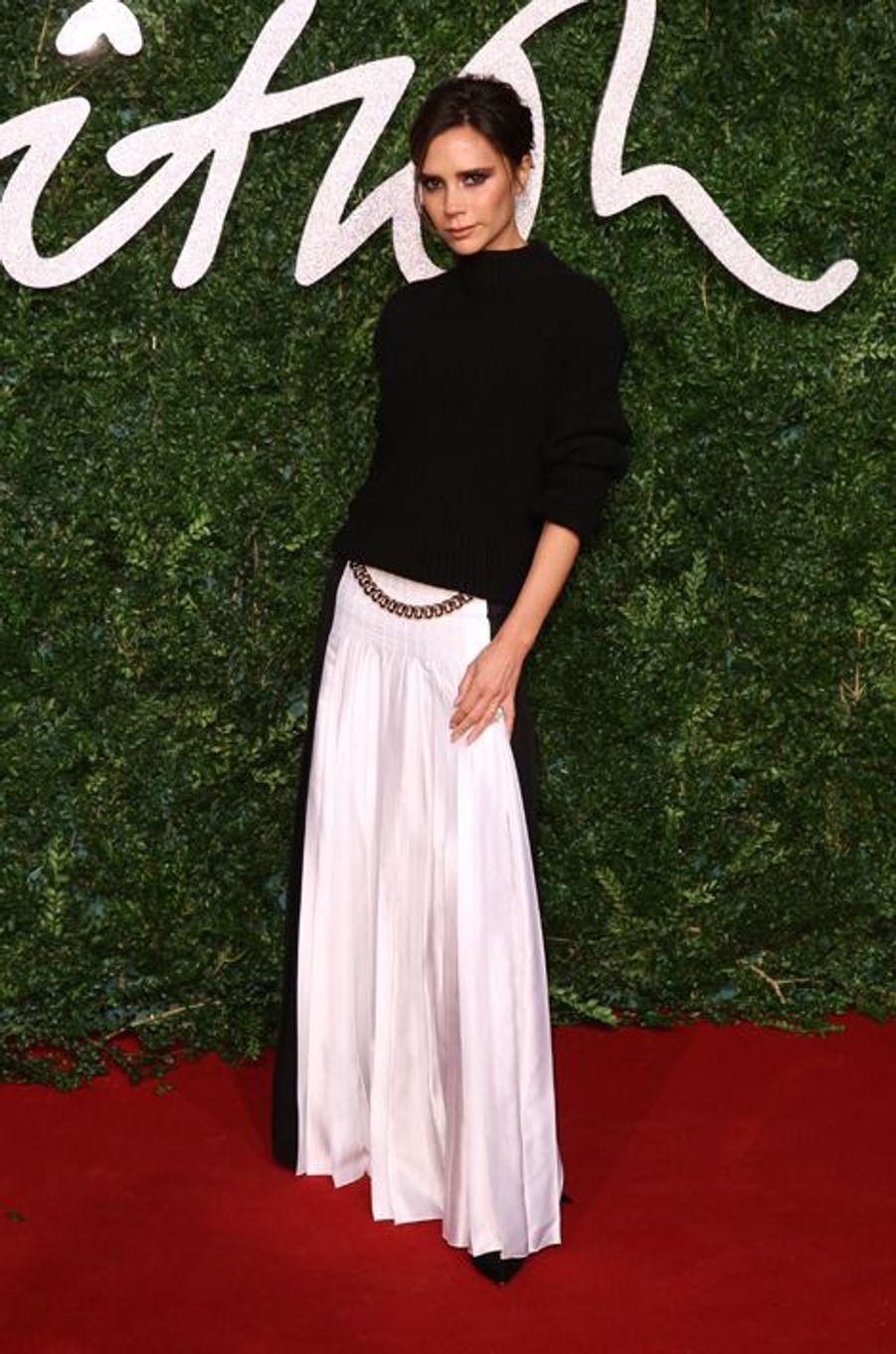 Victoria Beckham à Londres le 1er décembre 2014