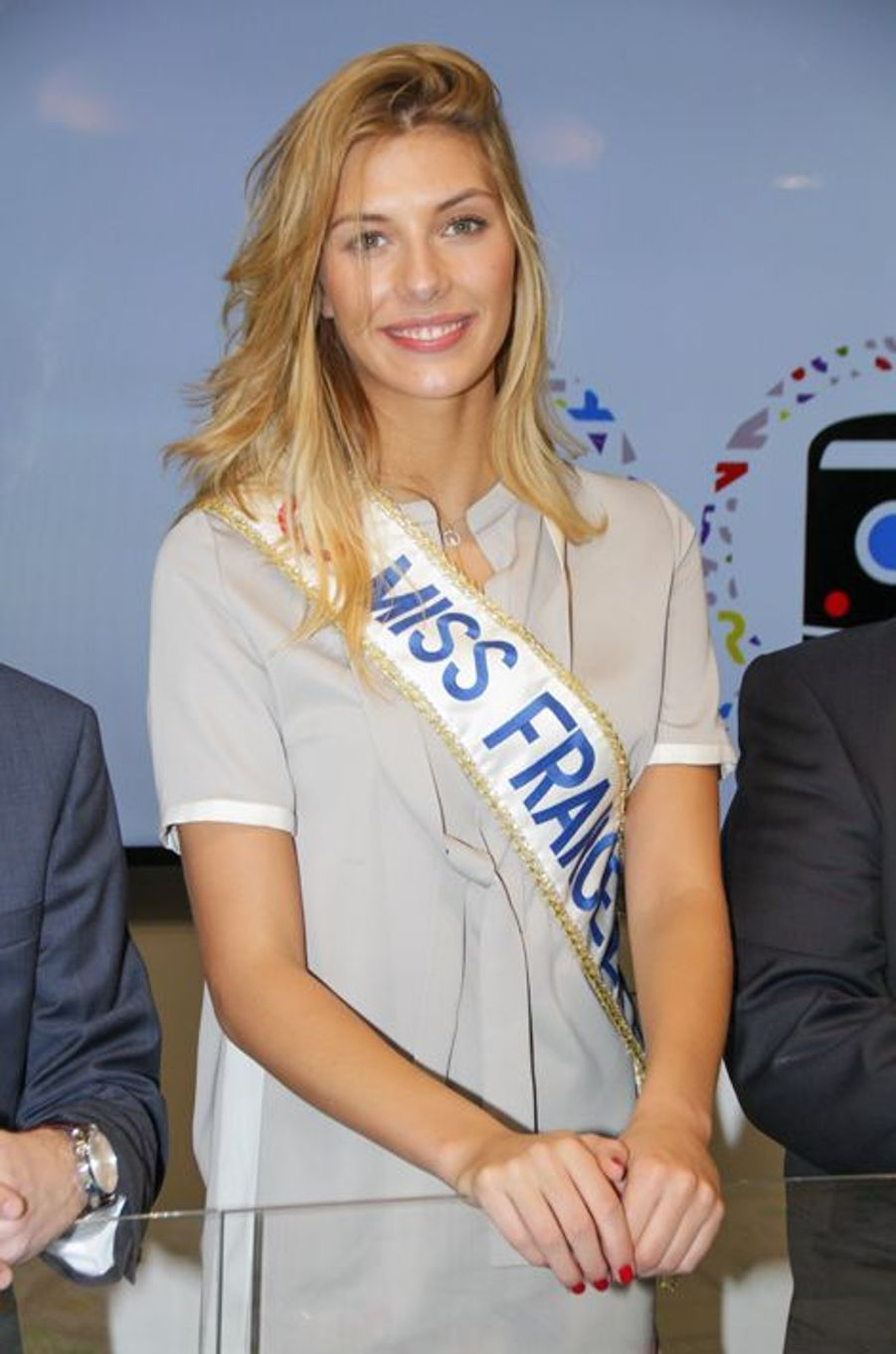 Camille Cerf à Cannes le 11 mars 2015
