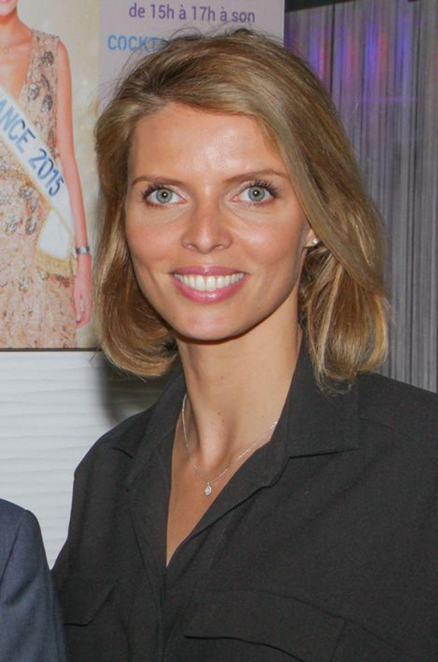 Sylvie Tellier à Cannes le 11 mars 2015